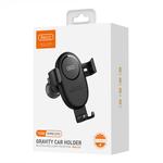 Recci Wireless Charger Gravity Car Holder Zwart