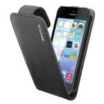 Suncia Leather1 iPhone 5C Klassiek Zwart
