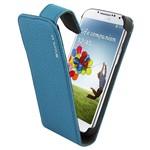 Suncia Leather1 i9500 Galaxy S4 Klassiek Blauw