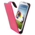 Suncia Leather1 i9500 Galaxy S4 Klassiek D. Roze