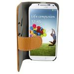 Suncia Leather2 i9500 Galaxy S4 Klassiek Bruin