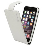 Suncia Leather6 iPhone 6 Plus/6S Plus Klassiek Wit