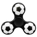 Hand Spinner Voetbal Zwart