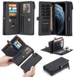 CaseMe Multi Wallet voor iPhone 11 Zwart