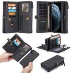 CaseMe Multi Wallet voor iPhone 11 Pro Max Zwart