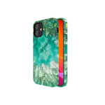 Crystal BackCover iPhone 12 mini 5.4'' Groen