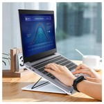 Opvouwbare & Verstelbare Mesh Laptopstandaard 15 Inch