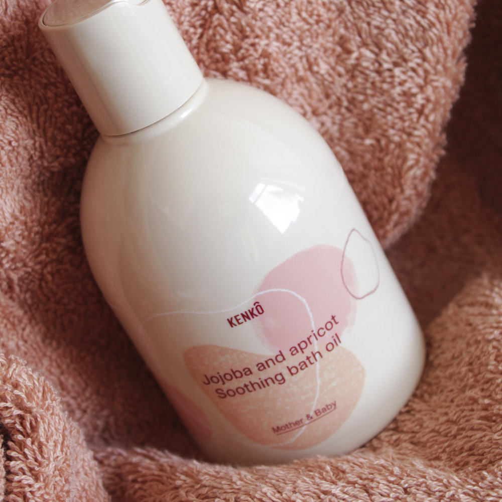 KENKÔ BATH OIL 240 ML MOTHER AND BABY