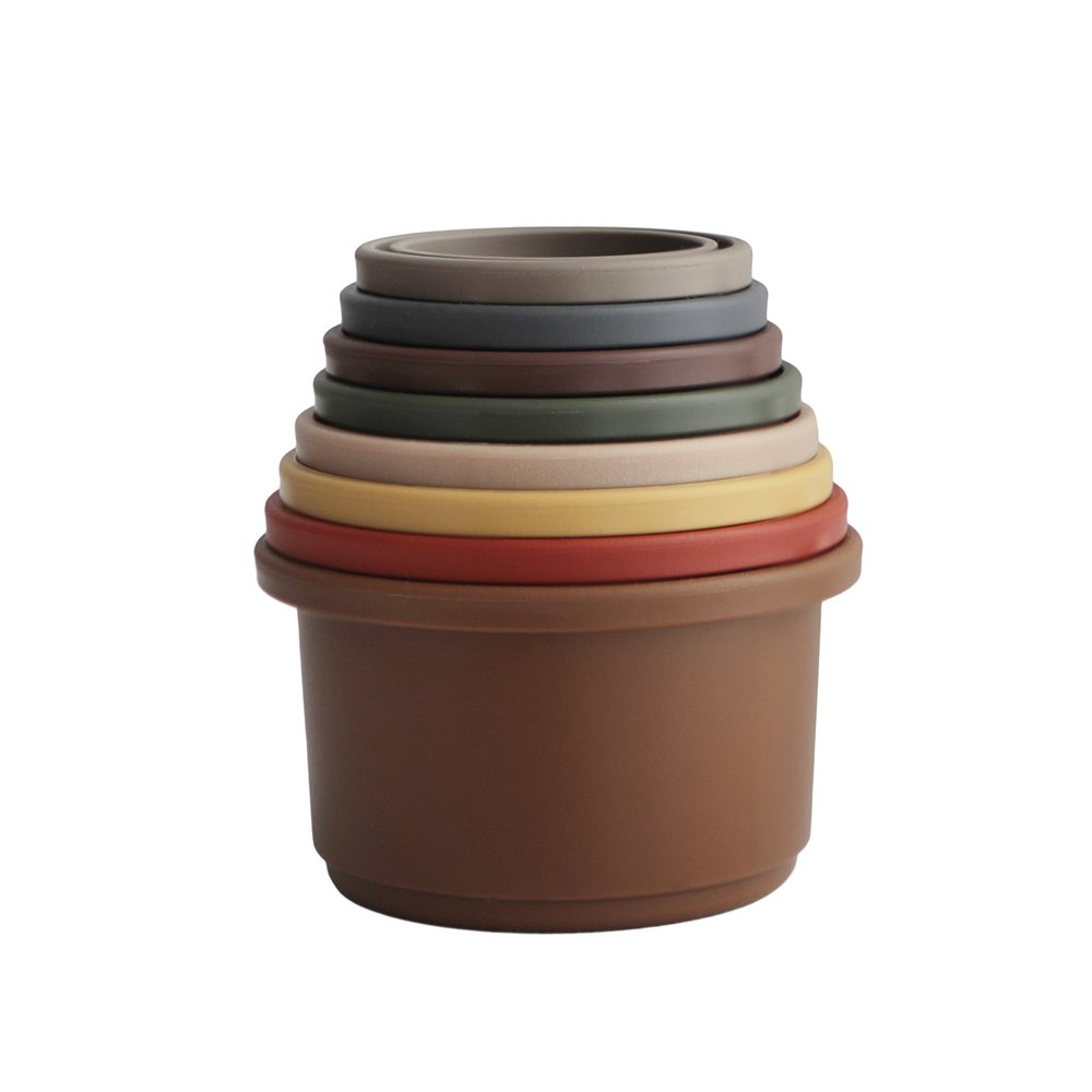 STACKING CUPS RETRO
