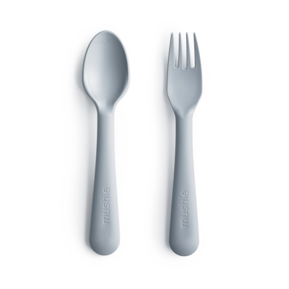 FORK AND SPOON SET - CLOUD
