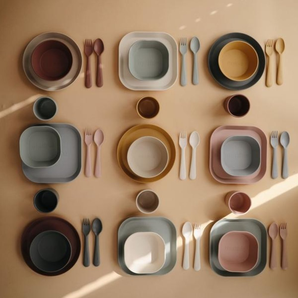 FORK AND SPOON SET - BLUSH