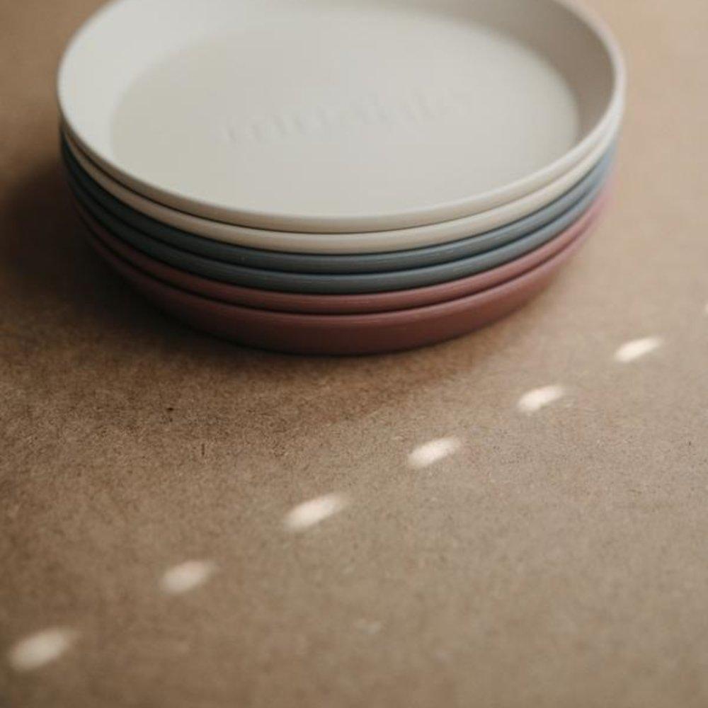 ROUND PLATE 2-PACK | WOODCHUCK