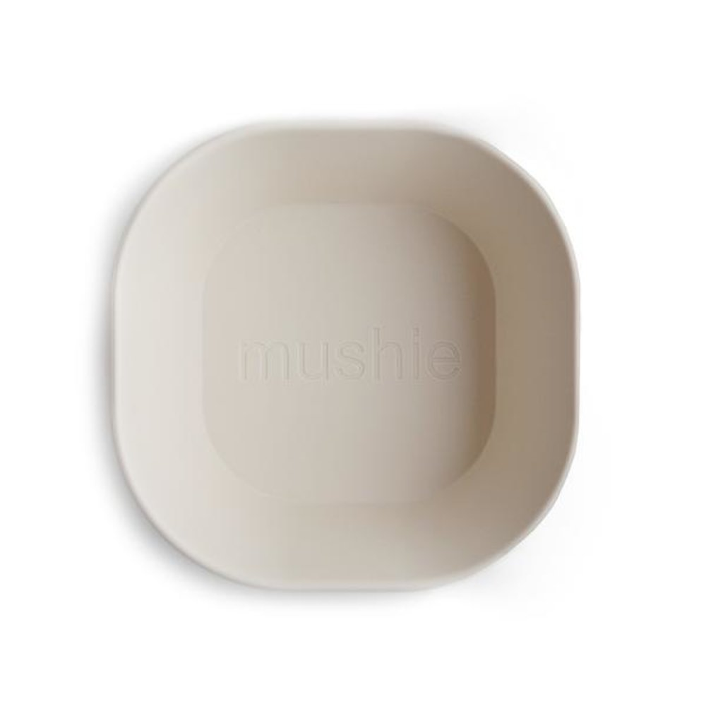 SQUARE BOWL 2-PACK | IVORY