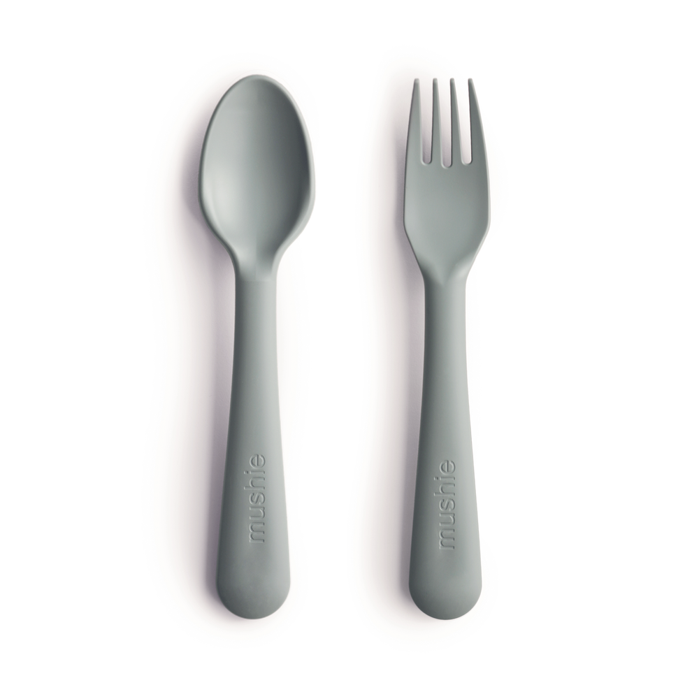 FORK AND SPOON SET - SAGE