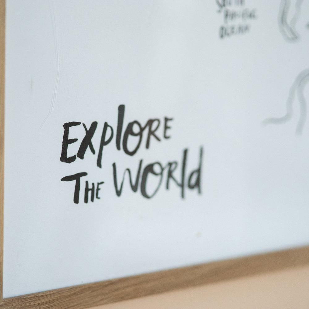 EXPLORE THE WORLD COLOR