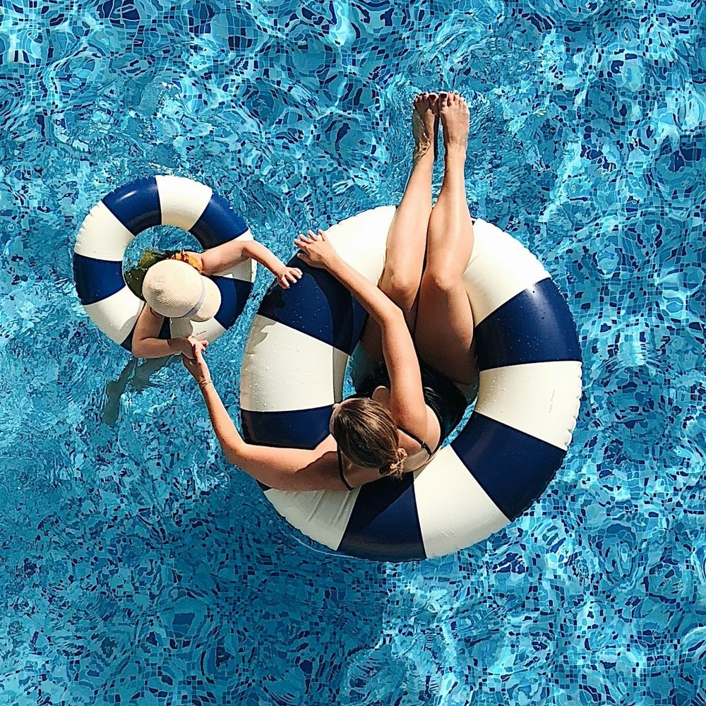 PETITES POMMES ICONIC FLOATS - CANNES BLUE