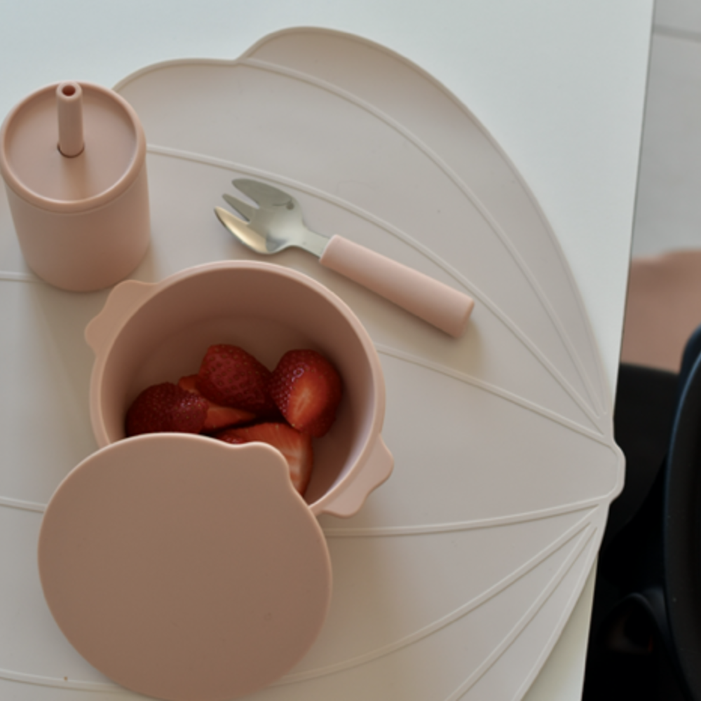 PLACEMAT SHELL - DUSTY ROSE
