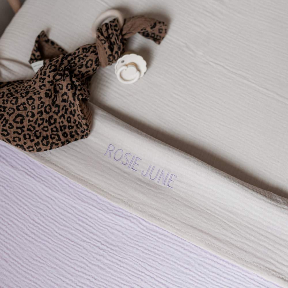 CHUNKY BED SET LUCKY LILA - COT