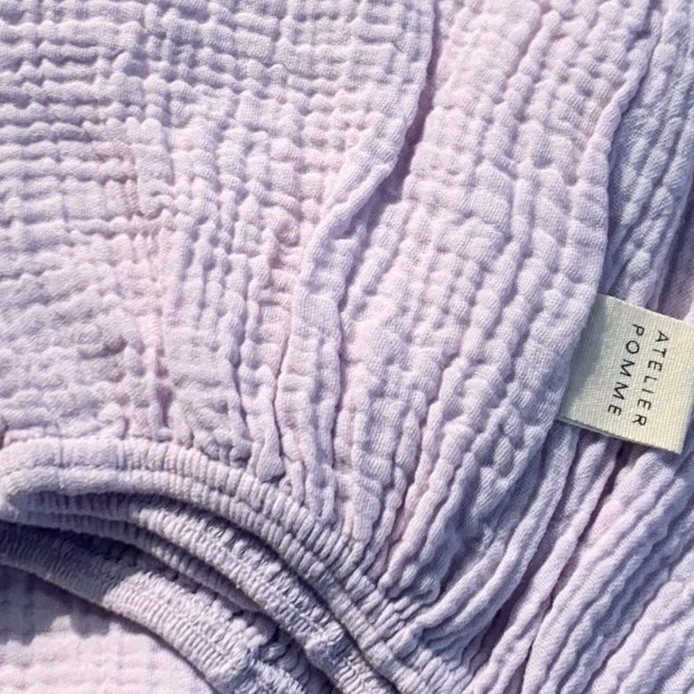 SLEEP TIGHT FITTED SHEET COT - LUCKY LILA