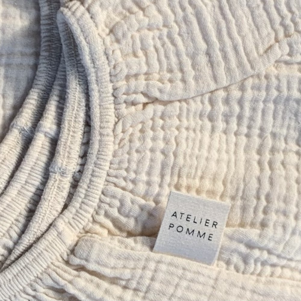 SLEEP TIGHT FITTED SHEET COT  - COSY WHITE