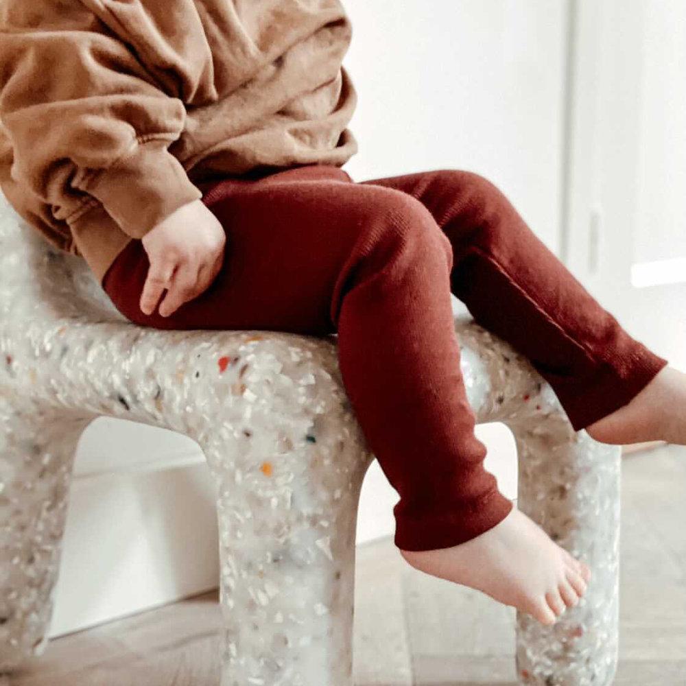 LEGGING HAPPY PANTS - CHERRY RED