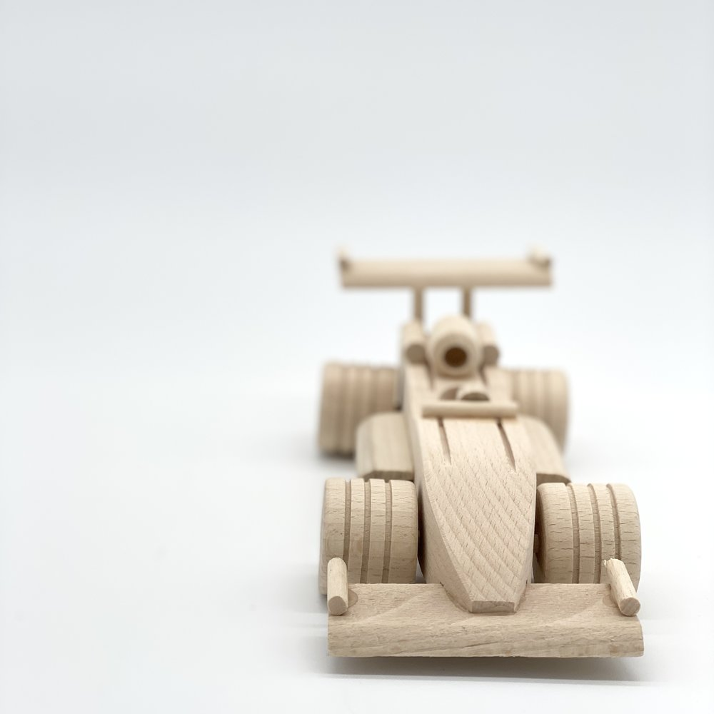 WOODEN RACECAR