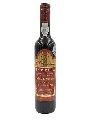 D'Oliveiras Madeira 10 Years Sweet - 0,5L