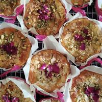Esthers gebak uit eigen bakkerij bij Organic Bergen