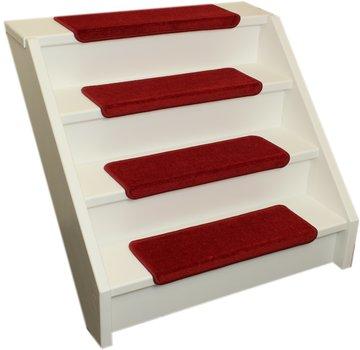 Elite Trapmatten Elite soft rood rechte trapmatten