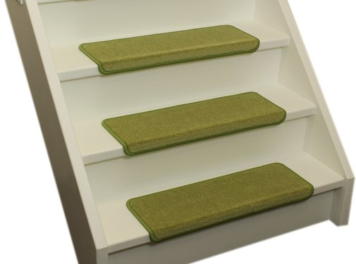 Elite Trapmatten Elite soft lime groen rechte trapmatten