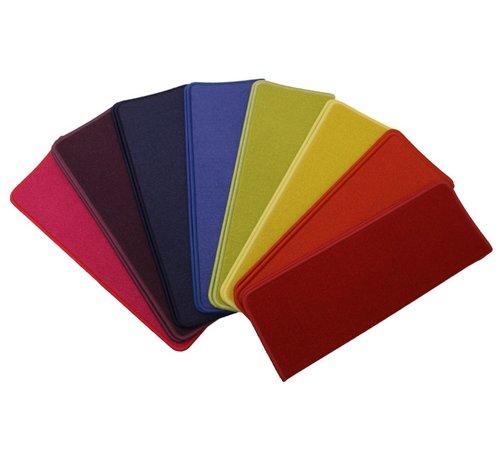 Elite Trapmatten Elite regenboog pakket voor rechte trappen. pakket 15 Trapmatten