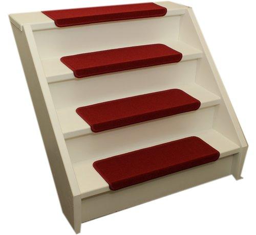 Elite Trapmatten Elite rechte trapmatten rood