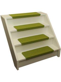 Elite Trapmatten Elite rechte trapmatten Lime groen