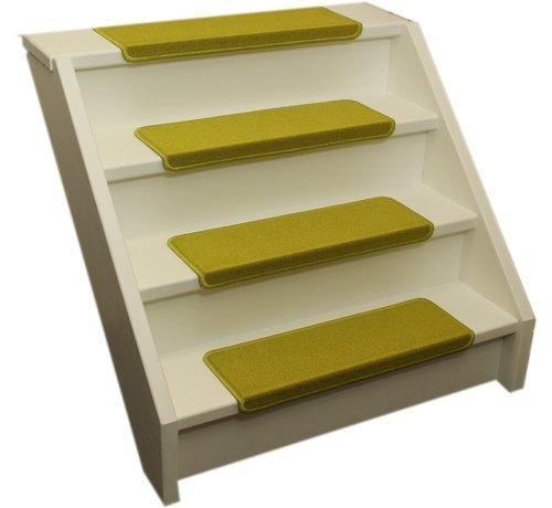 Elite Trapmatten Elite rechte trapmatten fluor geel