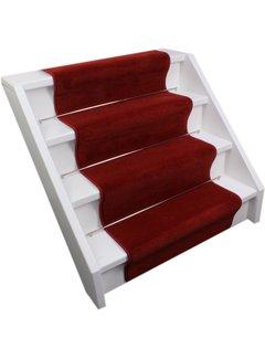 Elite Trapmatten Trap loper Performance donker rood 65cm breed