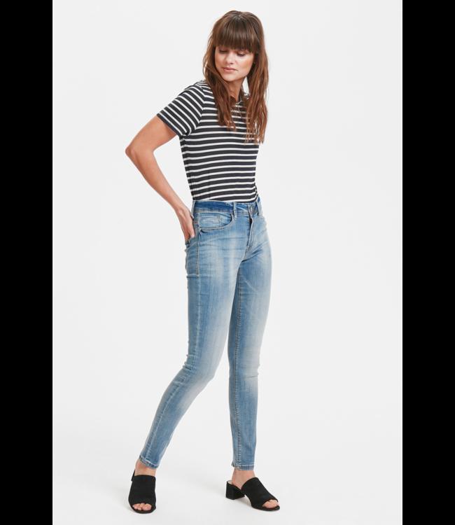 IHERIN Izaro  Light Blue Bleached Jeans