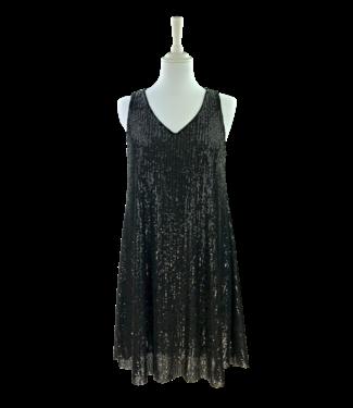 Antonello Serio Dress 644 - Black