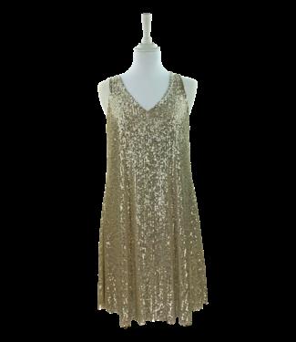 Antonello Serio Dress 644 - Gold