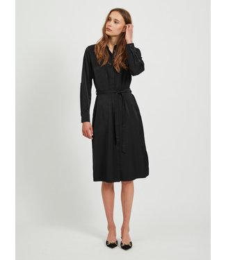 Object OBJEILEEN Shirt Dress NOOS - Black