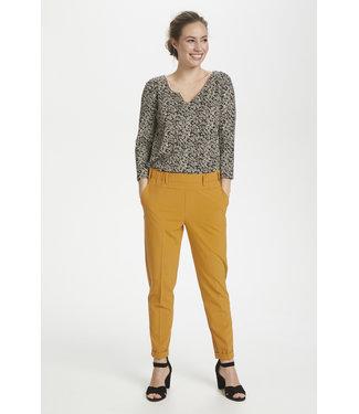 Kaffe Nanci Jillian 7/8 Pants - Inca Gold