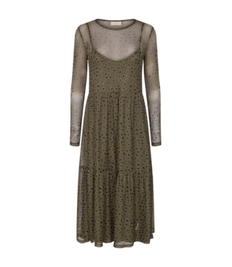 Freequent FQFERONA Dress - Olive Night Mix