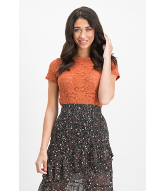 Lofty Manner Top Noralie - Orange