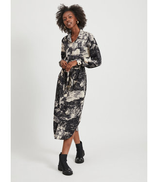 Object OBJELIA Shirt Dress  - Sandshell AOP