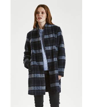 b.young byoung BYCITTA Coat - Peacoat Combi
