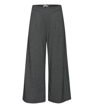 ICHI IHKATE Jacquard Pants 4 - Black