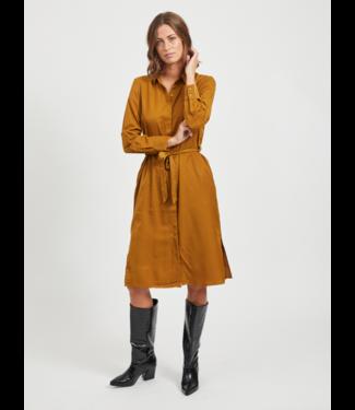 Object OBJEILEEN Shirt Dress SC - Tapenade