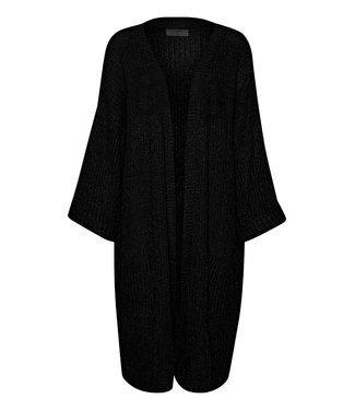 Cream Sally Kimono - Pitch Black