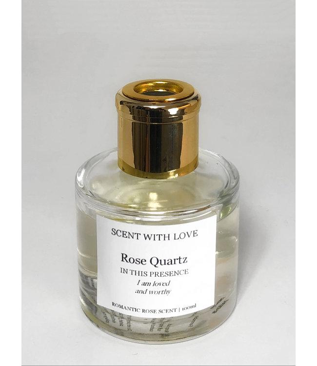 Transparante diffuser - Rose Quartz -  Romantic Rose