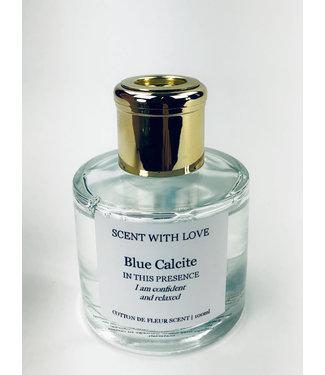 Scent With Love Transparante diffuser - Calcite - Cotton de Fleur