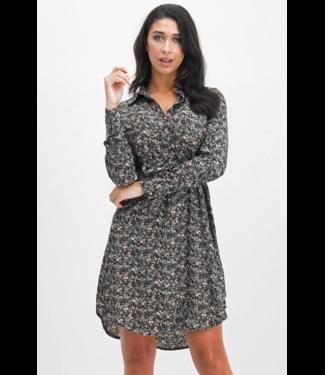 Lofty Manner Dress Holly - Blue-Brown